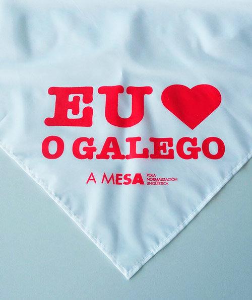 """Pano """"Eu quero o Galego"""""""
