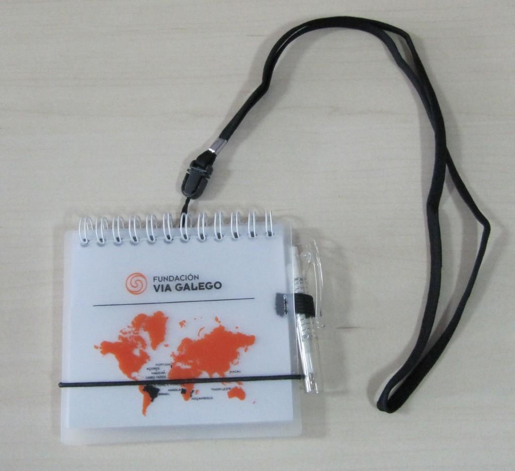 """Caderno """"Fundación Via Galego"""""""
