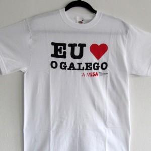 """Camisola """"Eu quero o galego"""""""