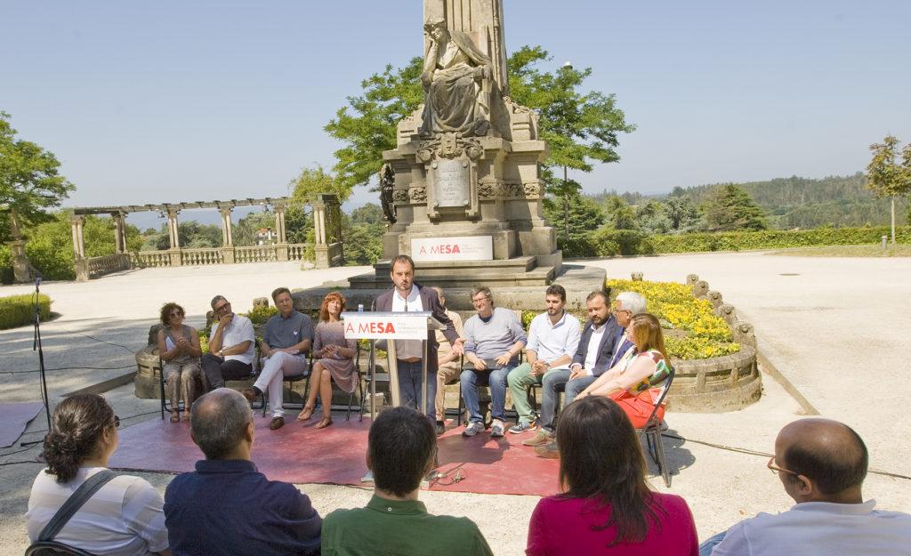 Acto Declaración de unidade a prol da lingua galega. Foto: Xan Muras