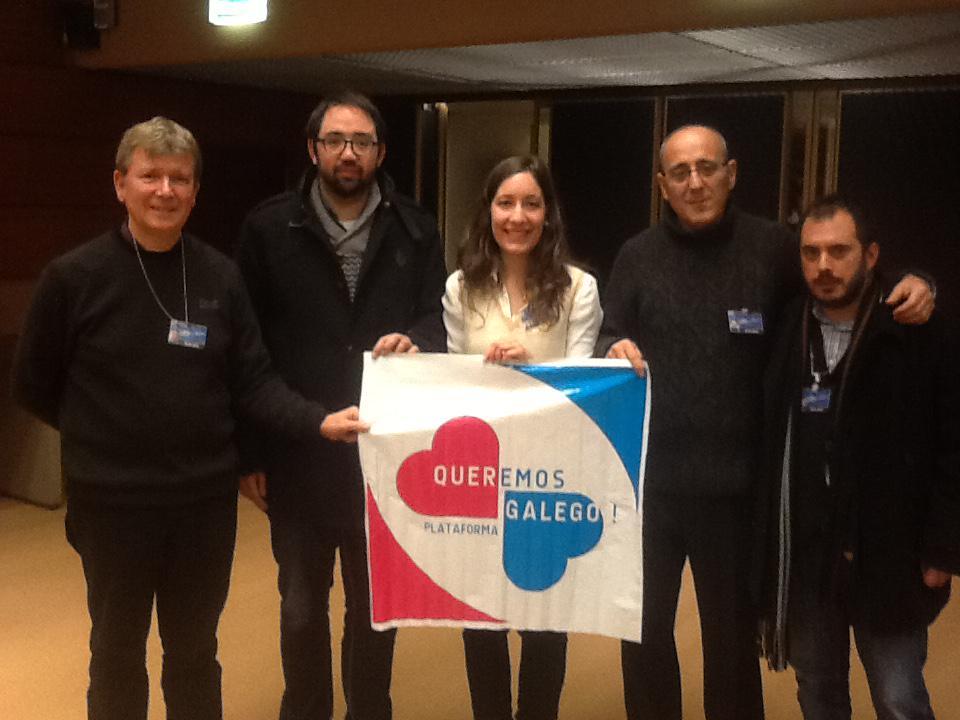 ELEN e Queremos Galego na ONU