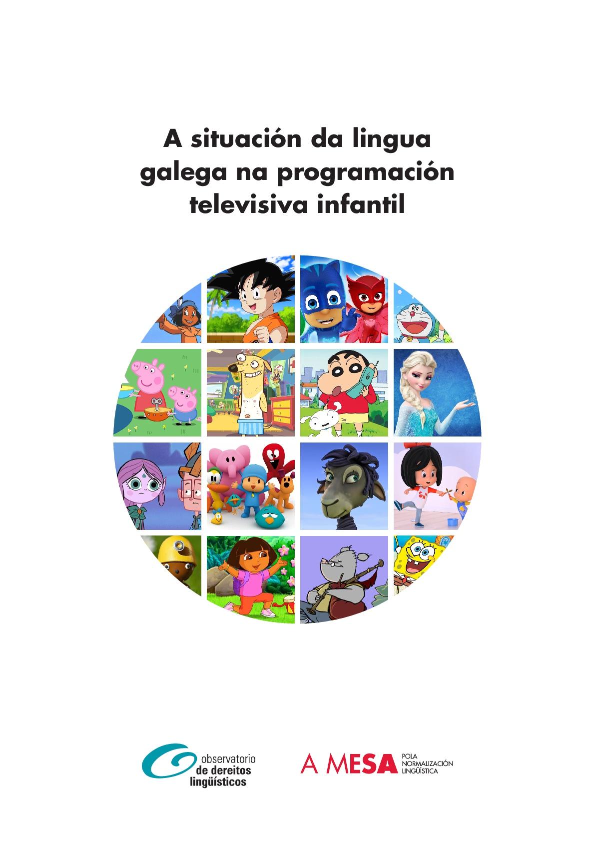 A Situación Da Lingua Galega Na Programación Televisiva Infantil