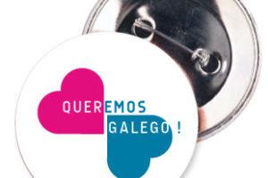 Chapa de Queremos Galego